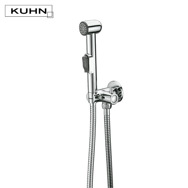 SET LLAVE ANGULAR CON DUCHA MANUAL MODELO DP31001P3 KUHN